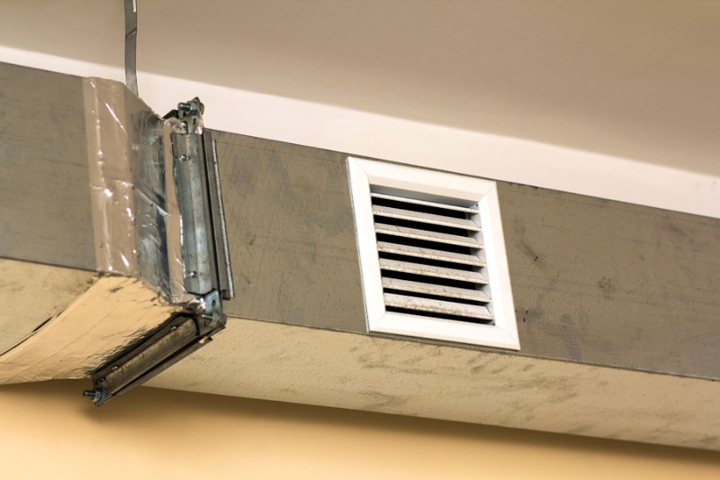 what leaky ducts might look like in your home.
